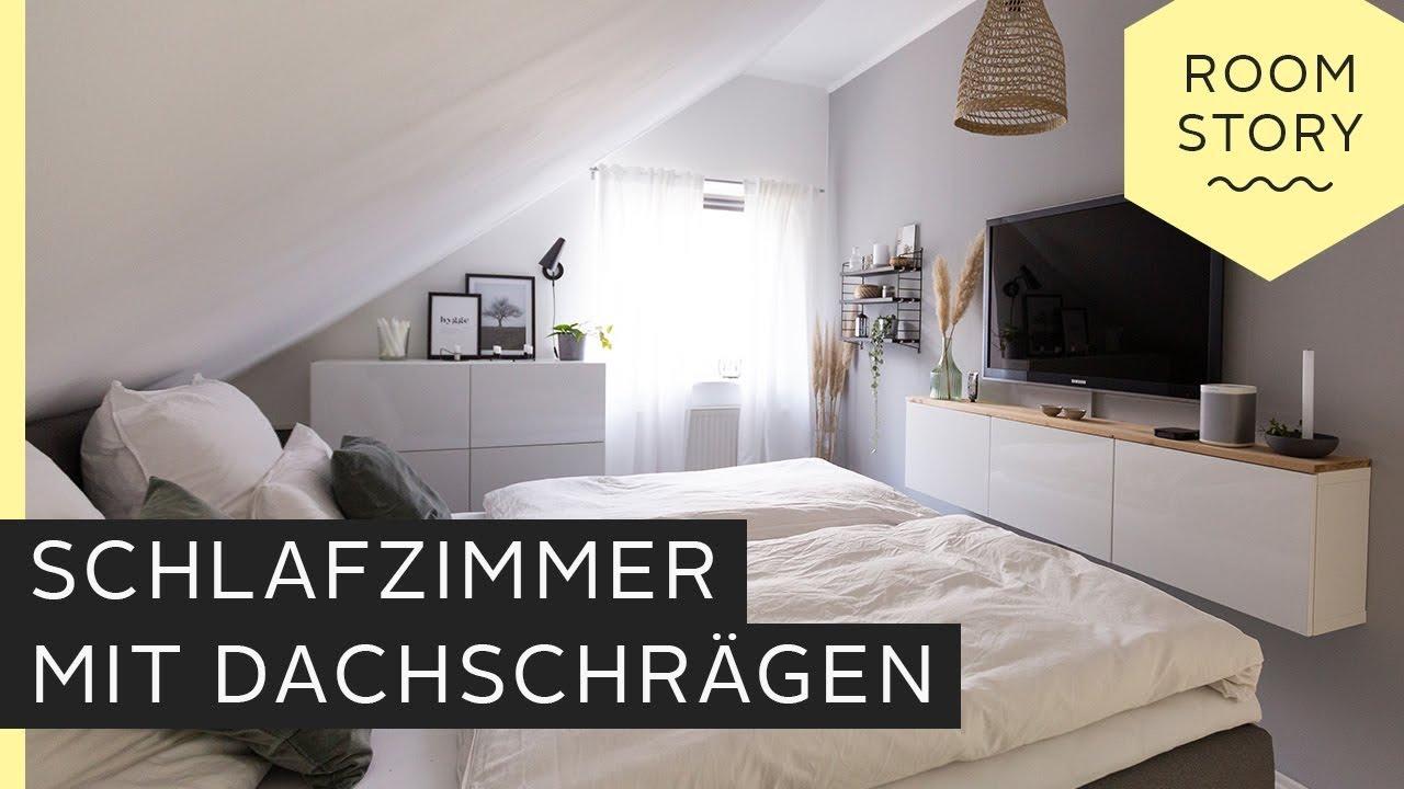 Schlafzimmer mit Dachschräge einrichten | Roombeez – powered by OTTO ...