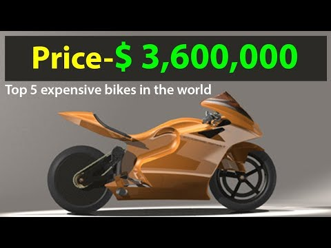 Top 5 Expensive Bikes In The World Youtube