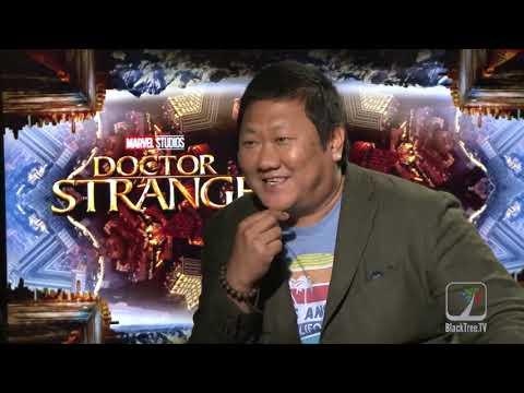 Benedict Wong Interview Doctor Strange