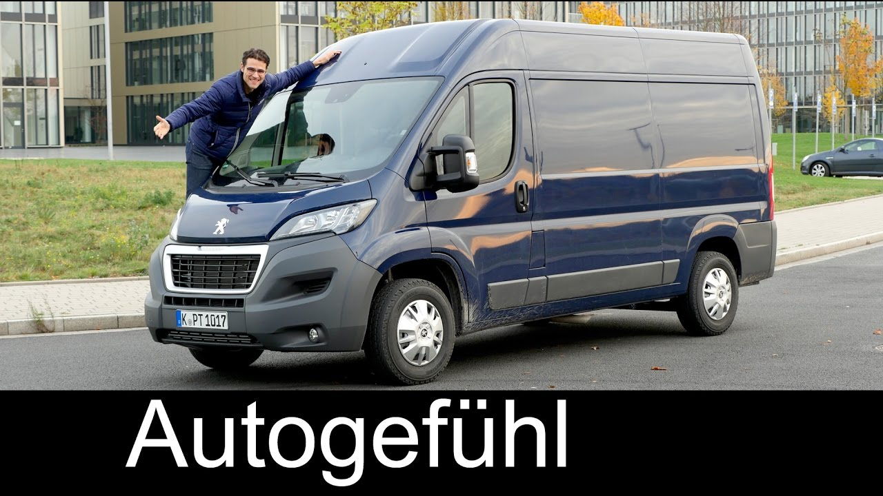 Peugeot Boxer L2h2 Full Review Test Driven Fiat Ducato Citroen