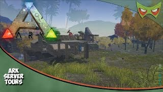 Ark Server Tours - Ep 01 - Tribe 8 - Ark Survival Evolved