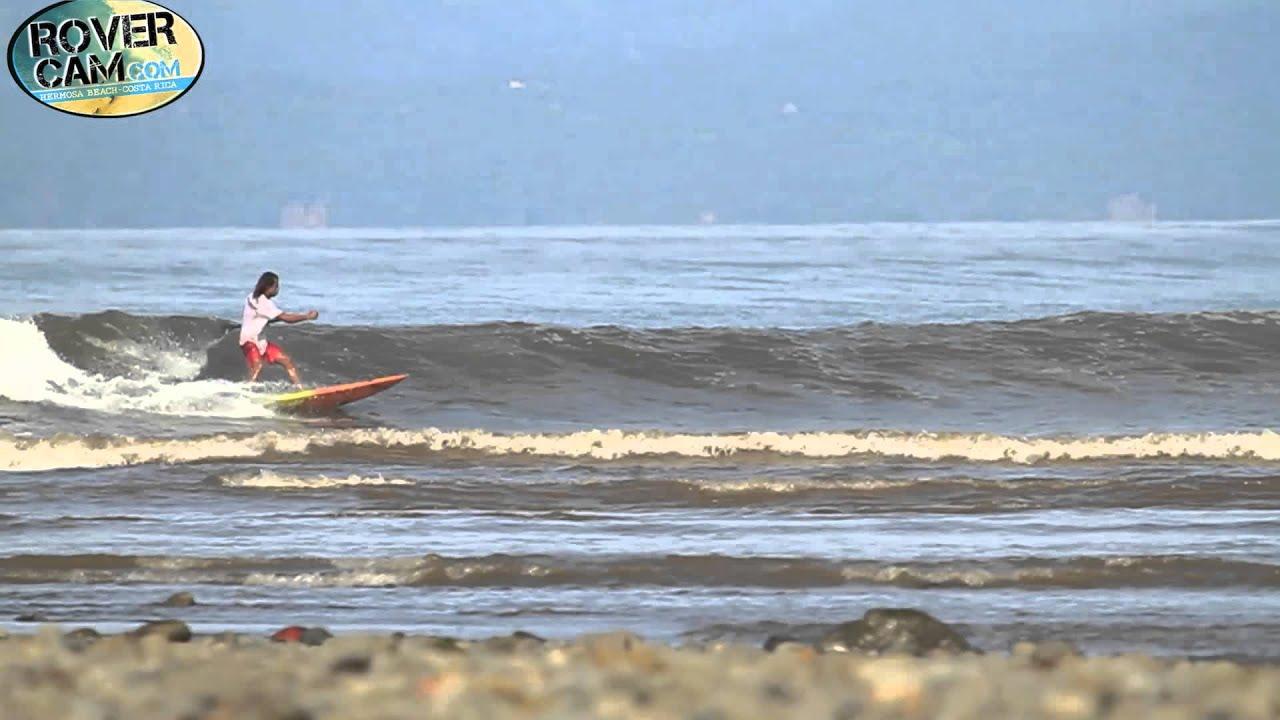 Surfing at boca barranca costa rica 8 22 13 youtube - Bagno boca barranca ...