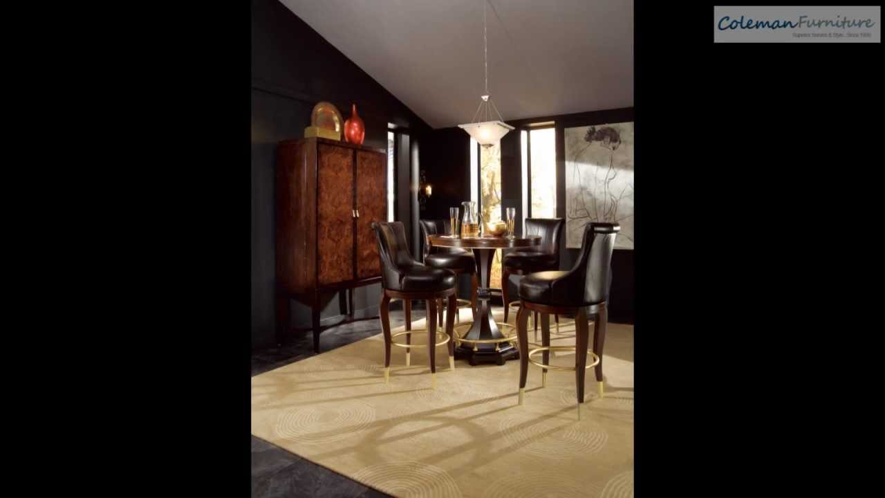 Bob Mackie Home Signature Pub Dining Room Collection From American Drew Coleman Furniture
