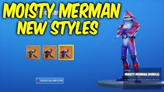 Fortnite moisty merman skin new styles. New Locker