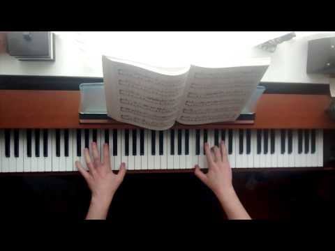 On A Clear Day - Kiki's Delivery Service - Piano Solo