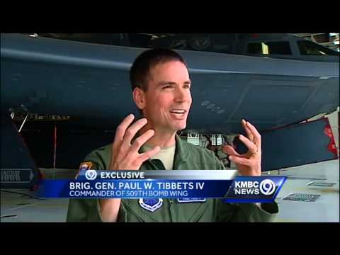 Enola Gay pilot's grandson now leads 509th Bomb Wing
