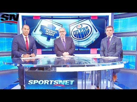 Sportsnet Panel (Oilers/Leafs Recap/Eberle Interview) February 11, 2016
