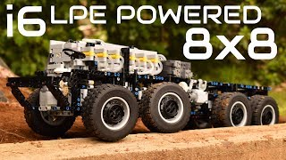 [MOC] Lego Technic Pneumatic 8x8 Tatra Chassis - RC - i6 LPE Powered and Massive!