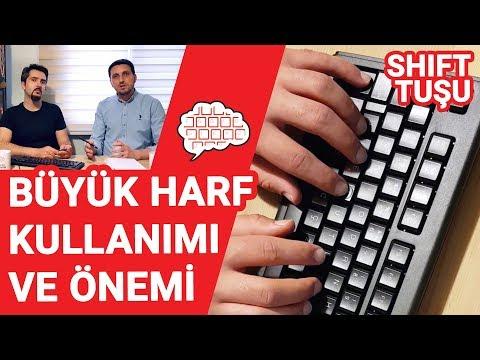 F Klavyede Büyük Harf Kullanımının Önemi (Shift Tuşu)