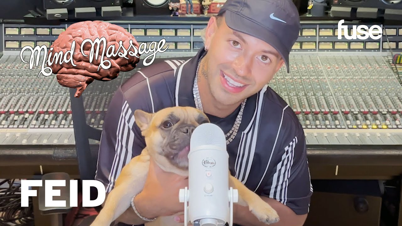 """Feid Does ASMR w/ His Dog, Reminisces On His Colombian Roots & Talks """"FUMETEO"""" 