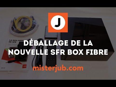 Déballage nouvelle Box TV Fibre de SFR by Numéricable - unboxing