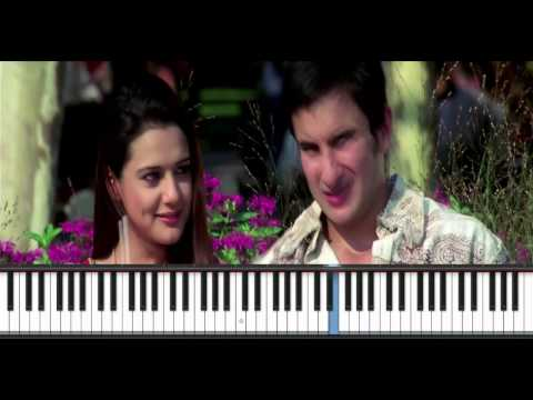 Kal Ho Na Ho - Dream Version - Piano Instrumental Cover - Manoj Yarashi