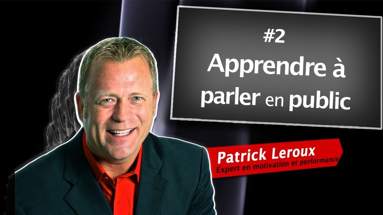 apprendre parler en public patrick leroux youtube. Black Bedroom Furniture Sets. Home Design Ideas