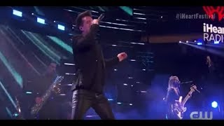 Panic! At the Disco performing at the IHeartFestival 2018