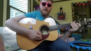 Macklemore feat Skylar Grey -- Glorious // easy guitar tutorial