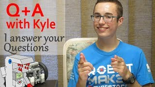 Q+A with Kyle - My FLL Experience, Why I Make Videos, How I would Improve the EV3