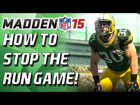Madden 15 - How to Stop the Run! - Simple Tips! - Madden 15 Tips!
