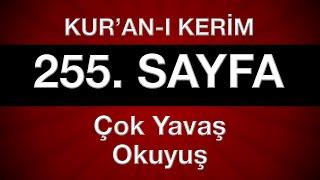 Kur'an-ı Kerim 256. sayfa (çok yavaş okuyuş)