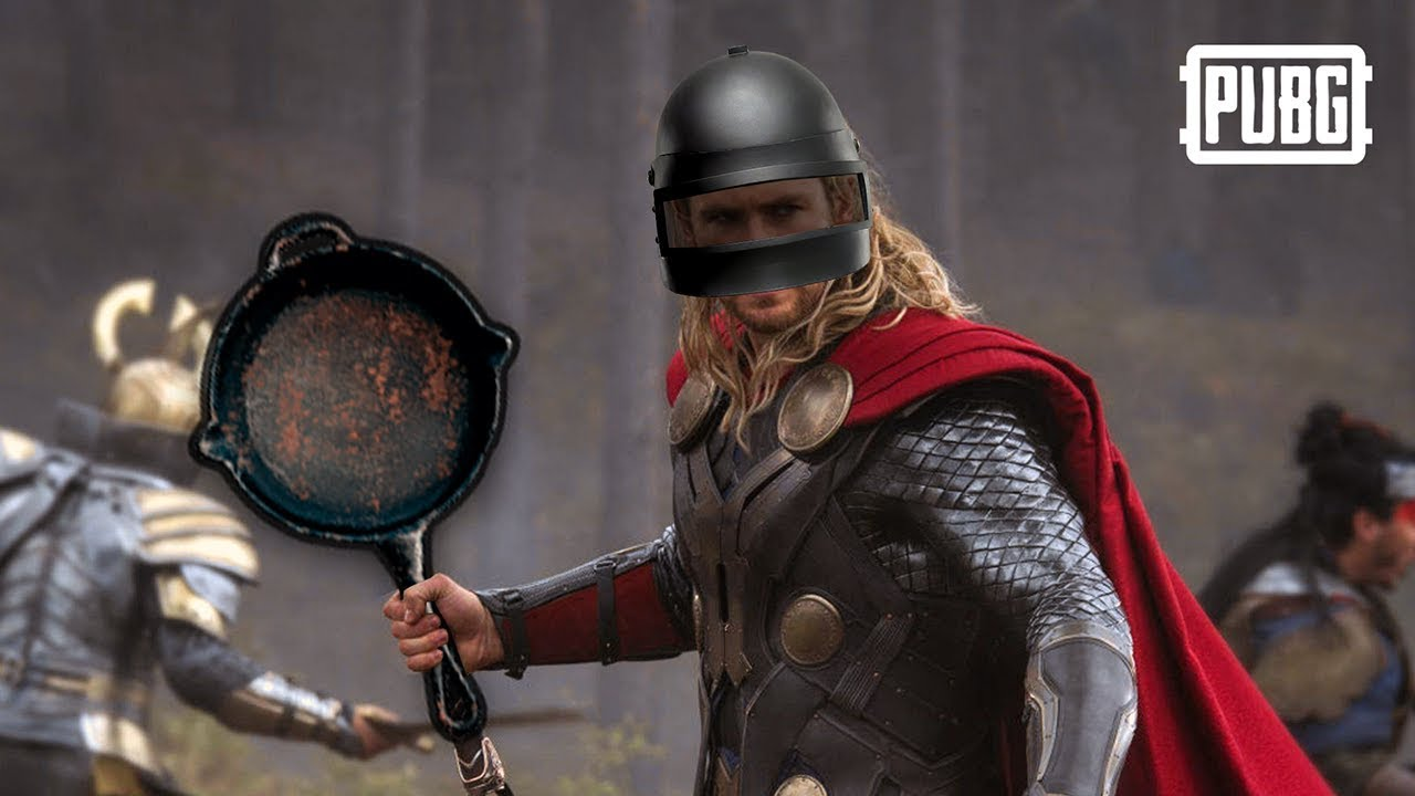 thor s pan in pubg no hammer no problem youtube