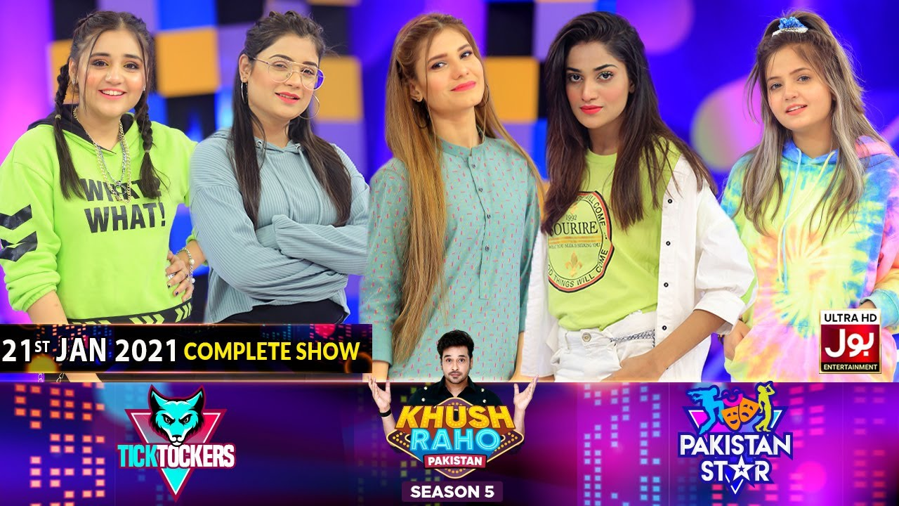 Game Show | Khush Raho Pakistan Season 5 | Tick Tockers Vs Pakistan Stars | 21st January 2021