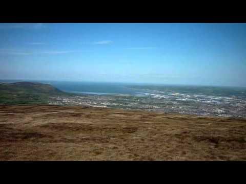 Divis & Black Mountain views , Belfast,  County Antrim, Northern Ireland