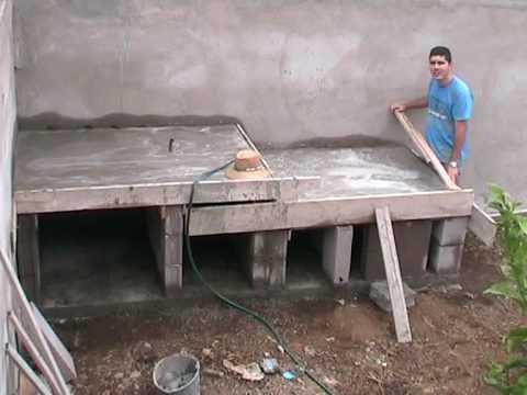 Horno de le a de la familia p rez alonso 1 2 parte youtube - Horno de lena con hornilla ...