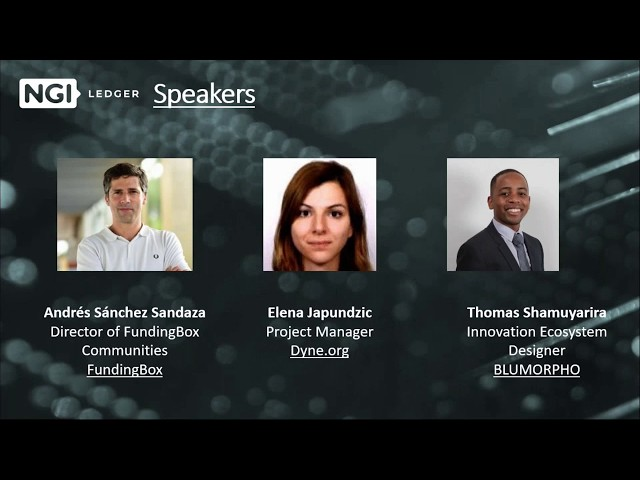 LEDGER Open Call 2 - Webinar Ep. 3: First cohort experiences and testimonies