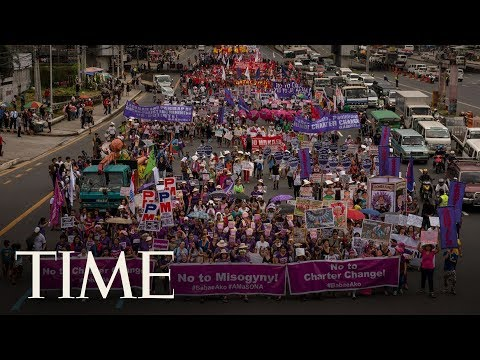 Thousands Gather In The Philippines To Protest The Duterte Administration | TIME