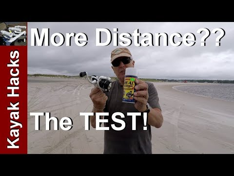 Real Magic Fishing Line Conditioner Distance Casting Review And Test