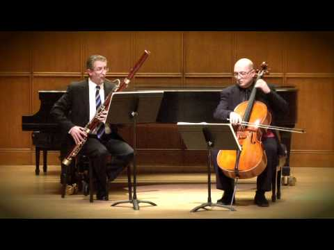 Mozart: Allegro - Sonata For Bassoon And Cello in B-Flat Major | Kroth, Bagratuni