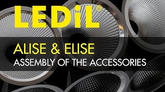Assembly of ALISE and ELISE reflector accessories - LEDiL