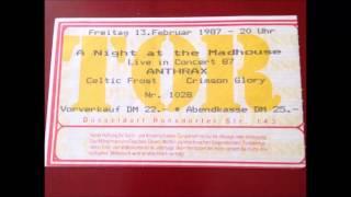 Celtic Frost Live 13 02 1987 Tor 3 Düsseldorf Germany