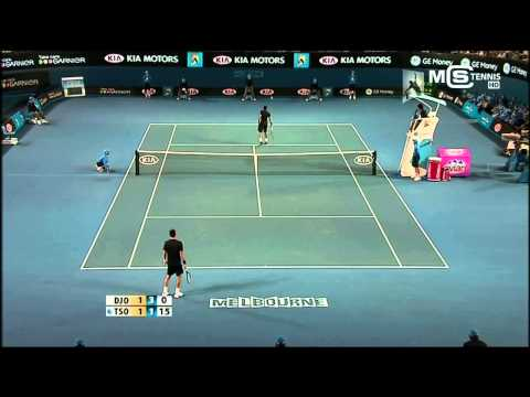 Australian Open 2008 | Novak Djokovic Vs. Jo Wilfried Tsonga Highlights ᴴᴰ