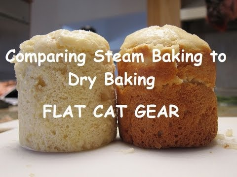Comparing Steam Baking To Dry By Flat Cat Gear
