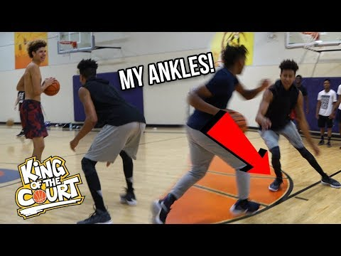 Chino Hills vs. LSK?! 1vs1 KING OF THE COURT BASKETBALL