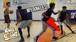 LaMelo & Chino Hills vs. LSK?! 1vs1 KING OF THE COURT BASKETBALL