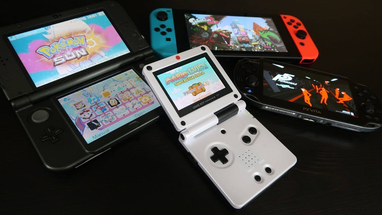 Best Portable Game Consoles for Travel - YouTube