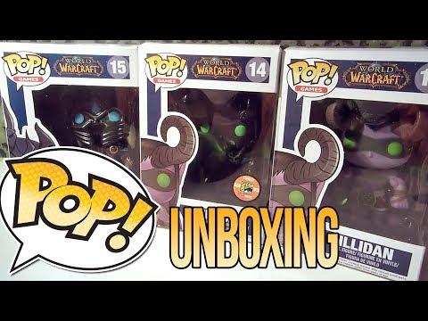 FUNKO POP World of Warcraft Unboxing❤