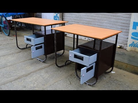 metal and board cash table 2/3 and 2/4 size available in popular furnitures