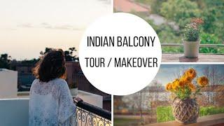 Balcony Makeover | Rearrange Balcony | Indian style decor