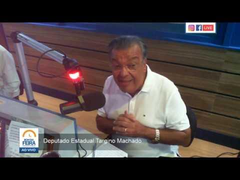 Targino Machado fala sobre pré-candidatura à prefeitura de Feira - Parte I