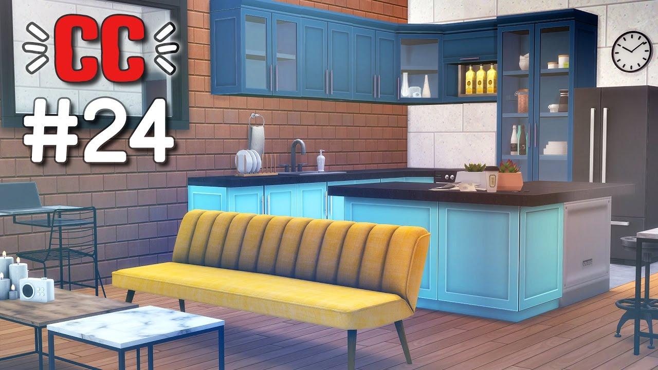 Jolis Meubles !  Cc Sims 4 #24  Youtube