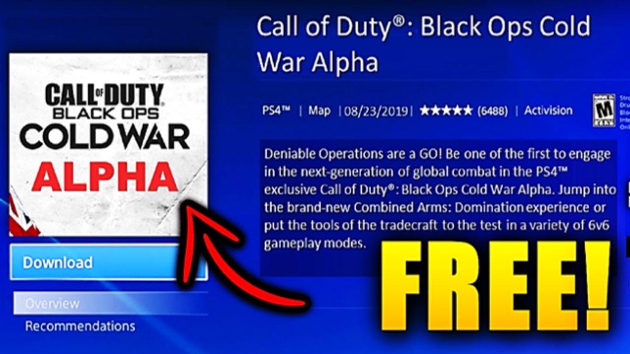 How To Download Black Ops Cold War Beta For Free Black Ops Cold War Alpha How To Download Now Youtube