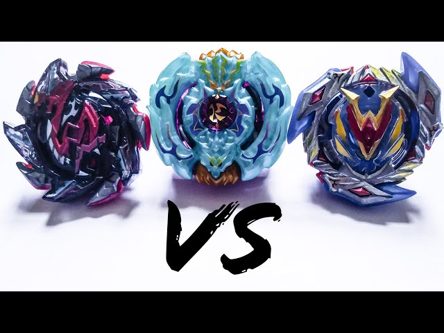 Winning Valkyrie VS Hell Salamander VS Beat Kukuclan   Beyblade Burst Super Z