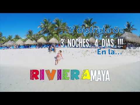 Paquete Turístico y viaje confirmado a Riviera Maya