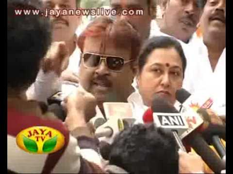 vijayakanth indecent 14 02 2014
