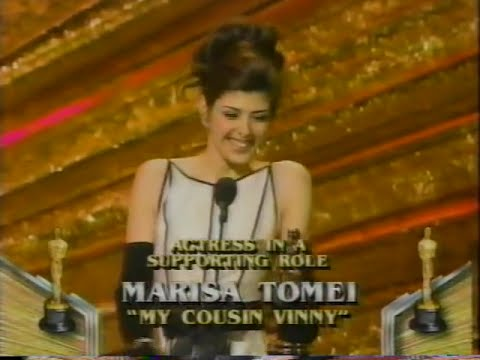 Marisa Tomei Winning Best Supporting Actress For My Cousin Vinny
