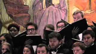JOSHUA FIT DE BATTLE OB JERICHO Ole Miss Concert Singers 11/4/14