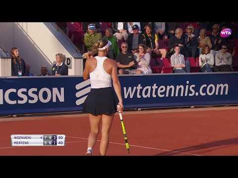 Swedish Open 2017 Semifinals | Caroline Wozniacki vs Elise Mertens | WTA Highlights