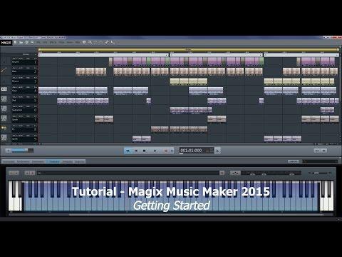 Tutorial 010 Magix Music Maker 2015 Premium - Getting started - A few tips